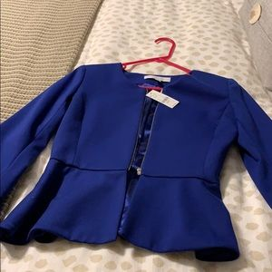 NY&C peplum jacket and skirt
